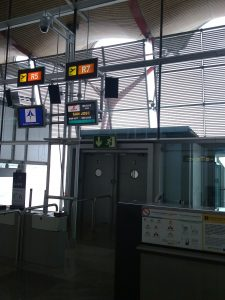 Avion vers le Costa Rica - aéroport de Madrid