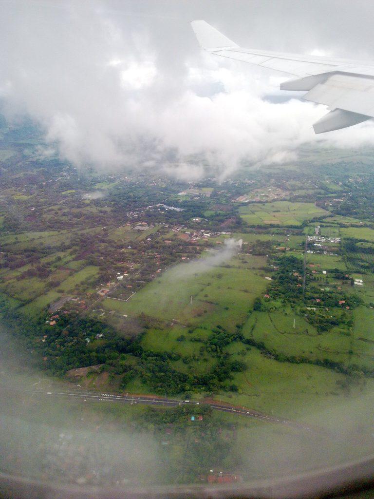 Aventure et voyage en avion au Costa Rica