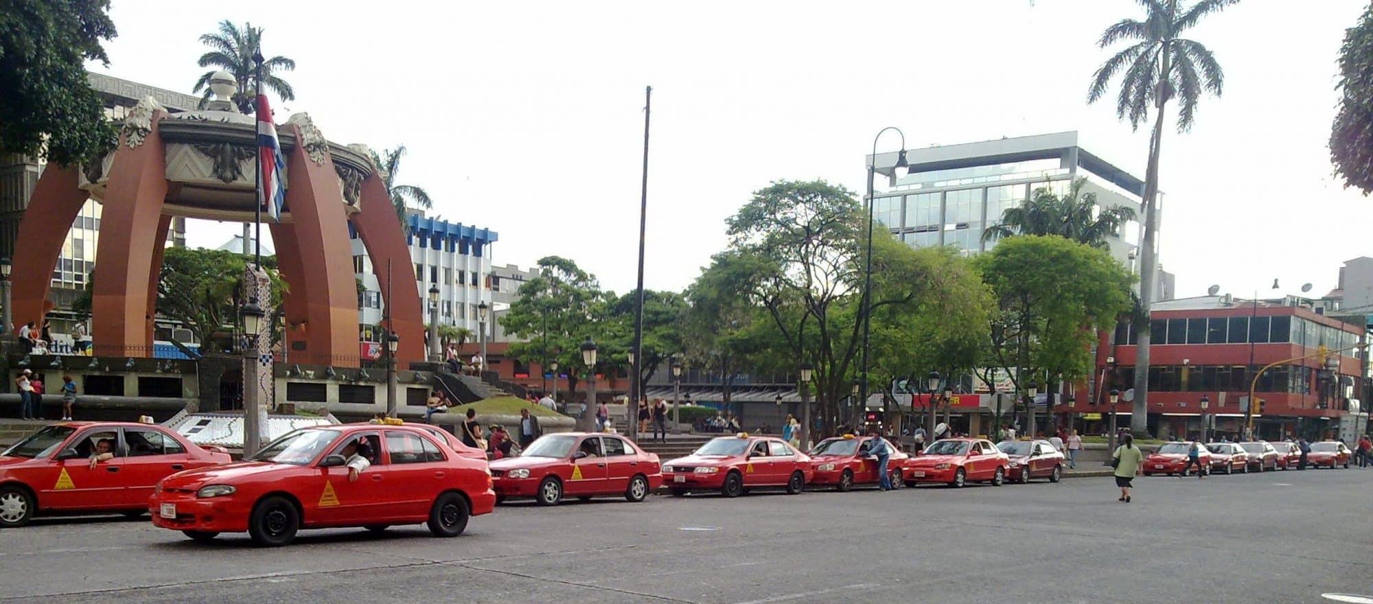 Ville de San José - Taxi au Costa Rica
