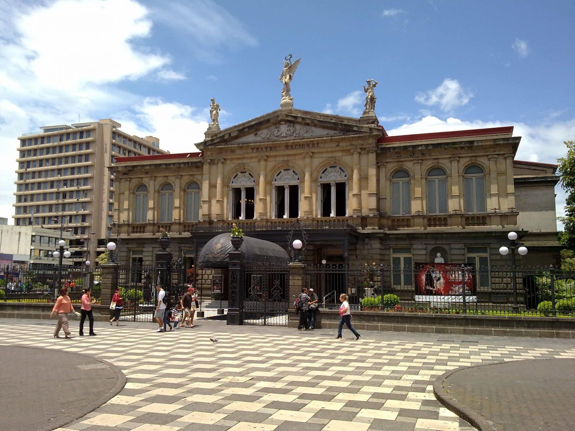 Ville de San Jose - Vert Costa Rica