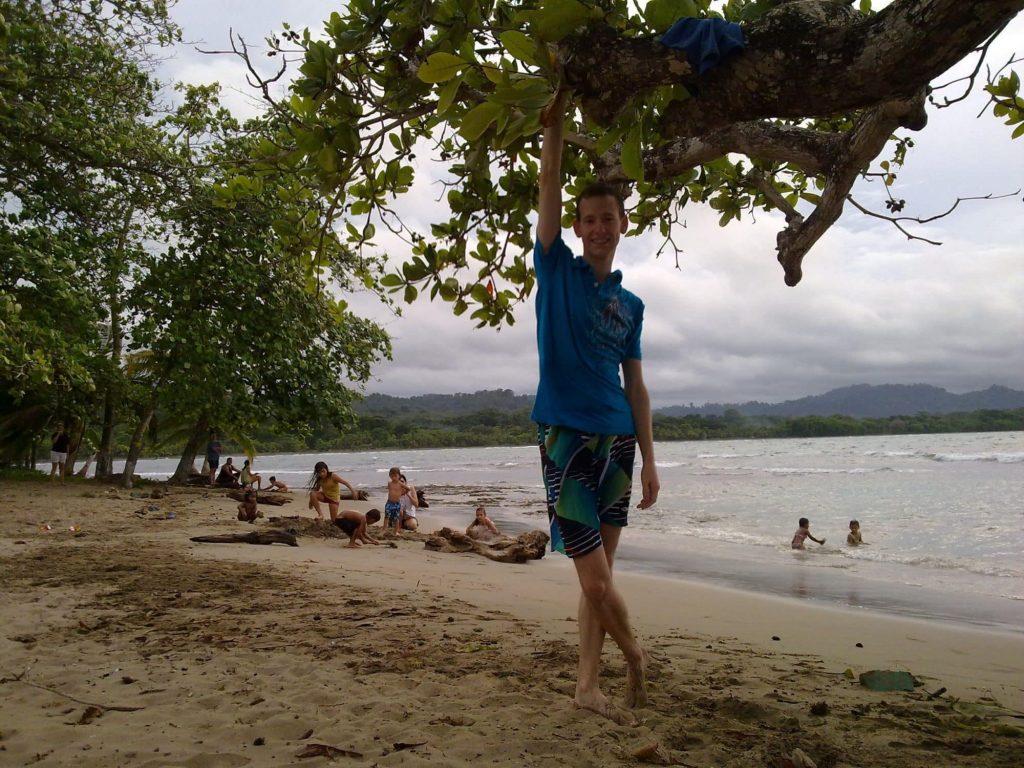 Vincent de Vert Costa Rica depuis Puerto Viejo