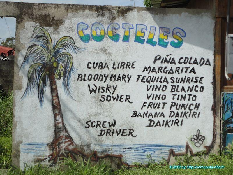 Cahuita au Costa Rica - Cocktail et soirées pura vida