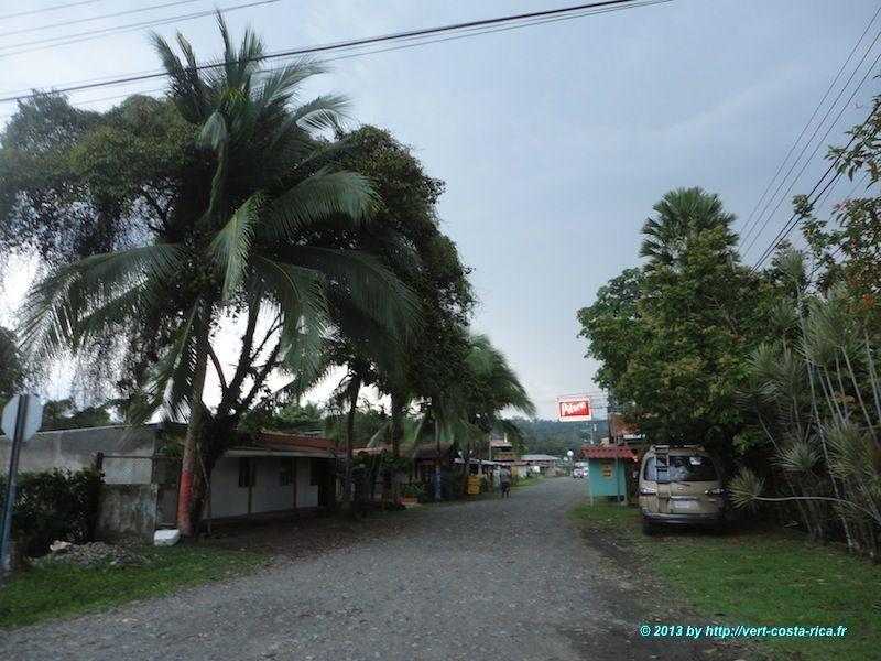 visite du village de Cahuita au Costa Rica
