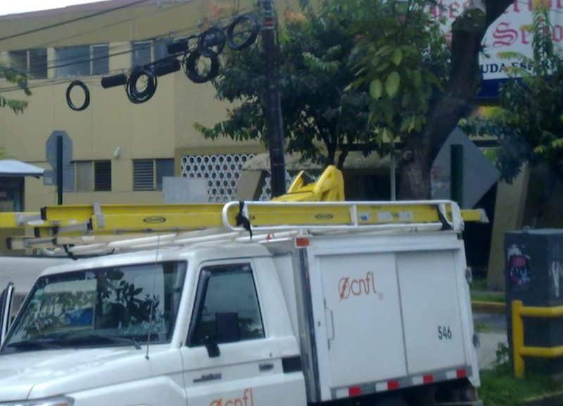 L'électricité au Costa Rica - transformateur de courant