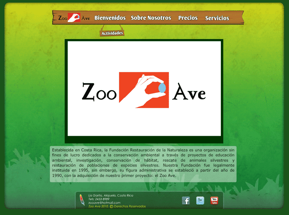 Zoo Ave – Images des animaux du Costa Rica !
