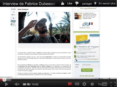 Interview de Fabrice Dubesset, auteur du Guide a.t.i.p.i.c, pour voyager en sécurité au costa rica.