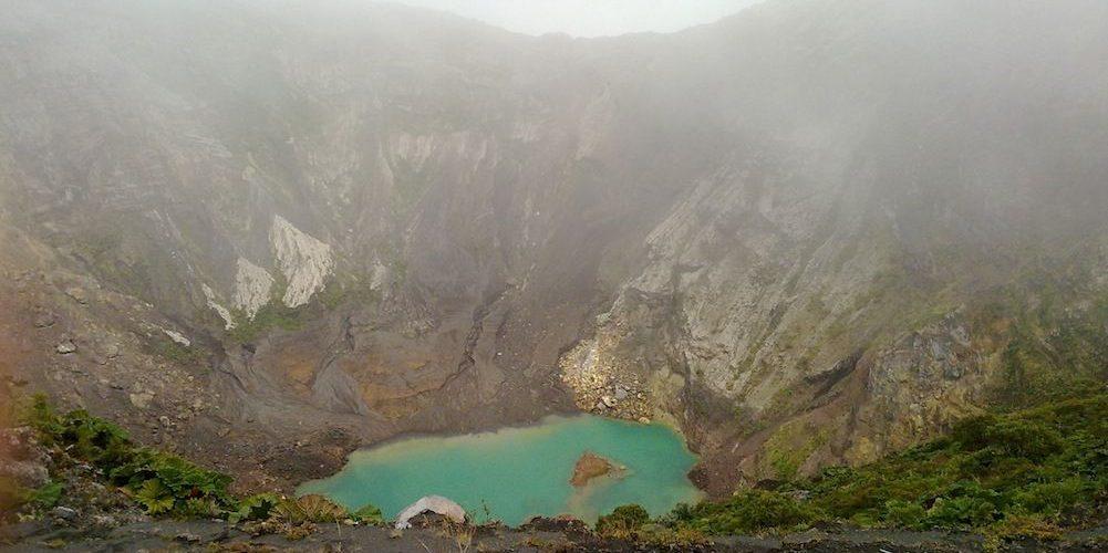 Cratère du Volcan Irazu, Costa Rica