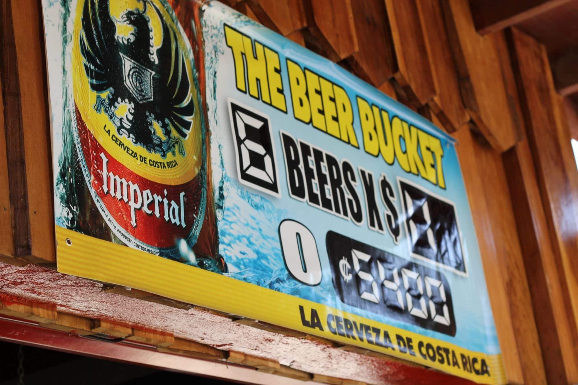 Les bières du Costa Rica - Pilsen, Impérial, Bavaria...