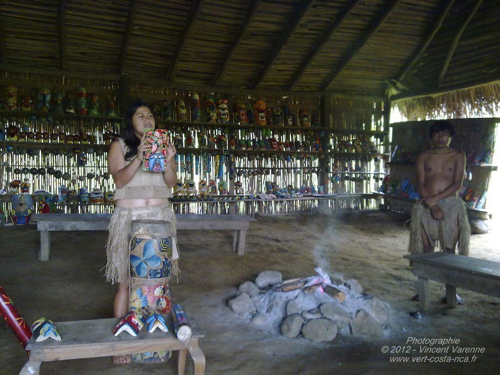 Tribu Maleku's - Visite de la Catarata de La Fortuna