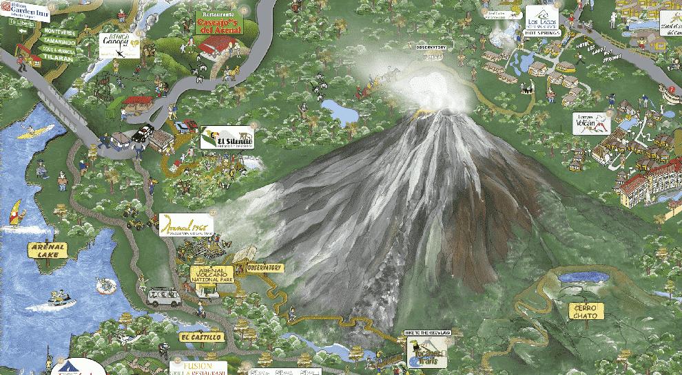 Région du Volcan Arenal - La Fortuna