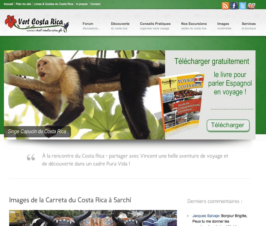 Nouveau sur le blog Vert Costa Rica
