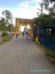 Poste de Frontière - excursion à Bocas del toro