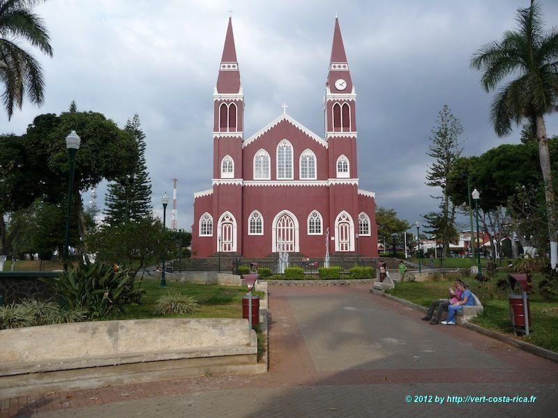 Eglise de la ville de Sarchi au Costa Rica