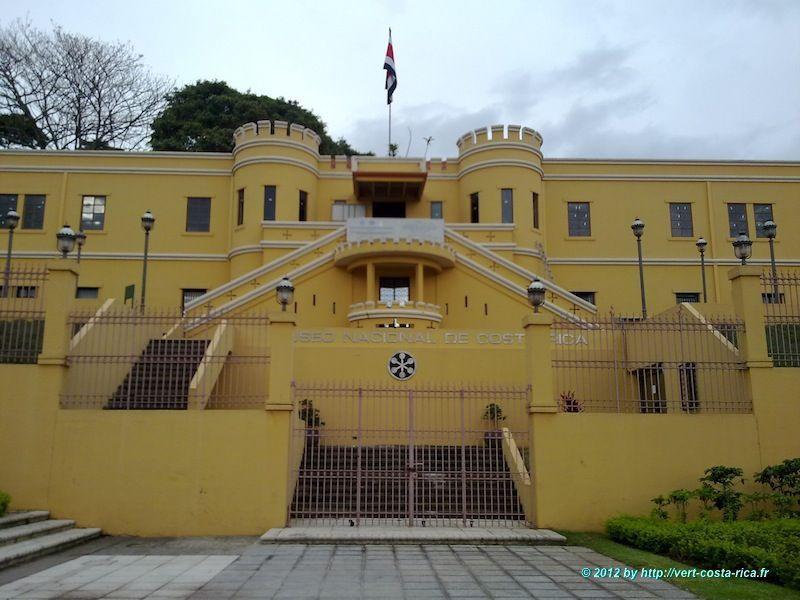 Entrée du Musée National du Costa Rica (Museo Nacional de Costa Rica)