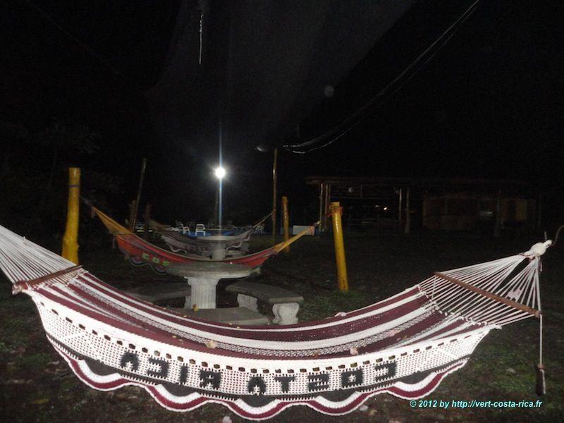 Les hamacs au Costa Rica à Manuel Antonio