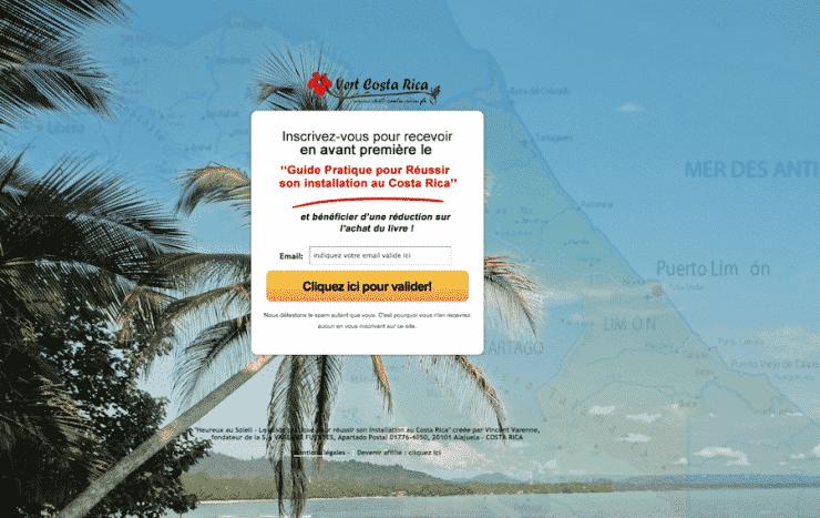 Votre livre pour vivre au Costa Rica