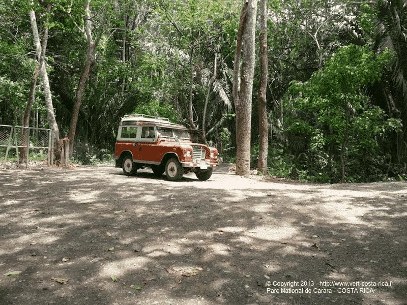 Parc National Carara au Costa Rica - départ