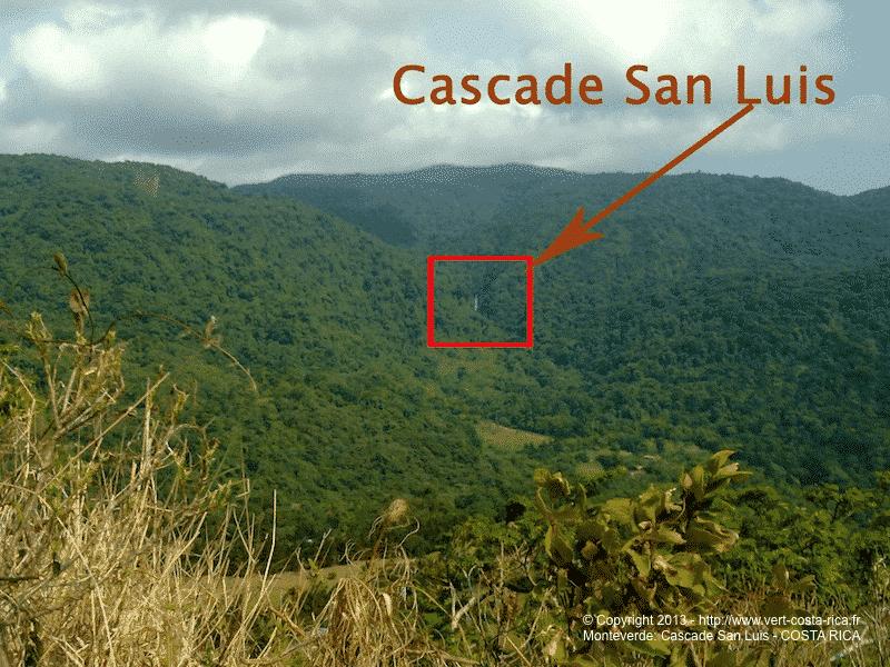Cascade San Luis de Monteverde - Catarata San Luis