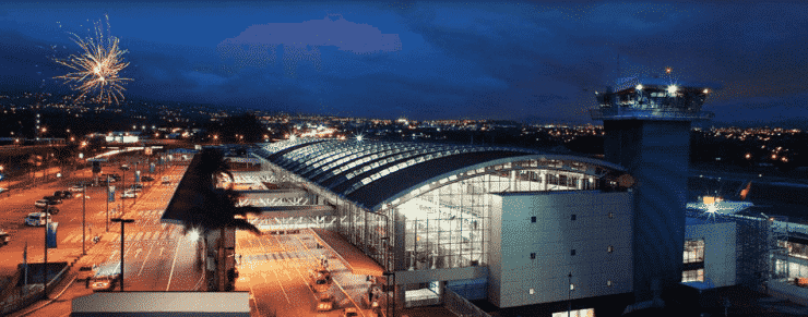 taxe d'aéroport au Costa Rica