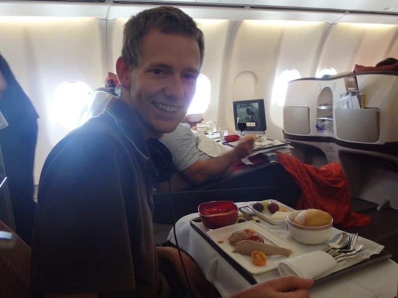 Vol en première classe - Iberia