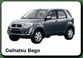 Location de voiture Costa Rica - Spécialiste 4x4 - Daihatsu BeGo