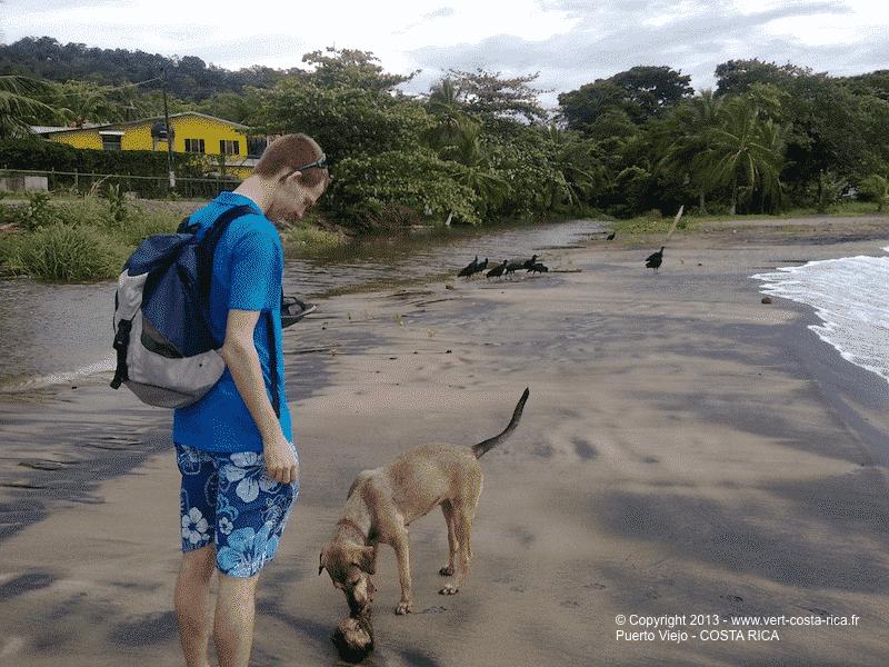Playa negra de Puerto Viejo de Talamanca - Costa Rica