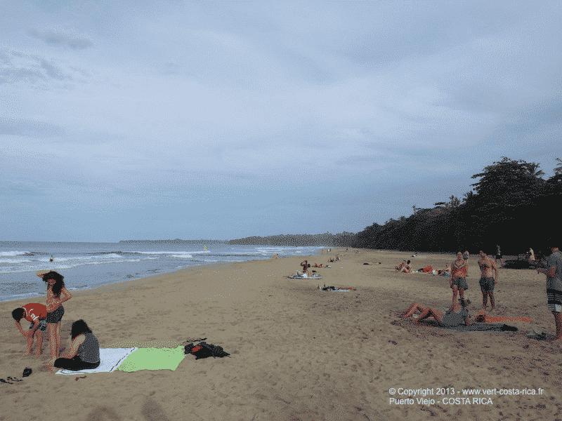 Plage de Cocles à Puerto Viejo de Talamanca - Costa Rica