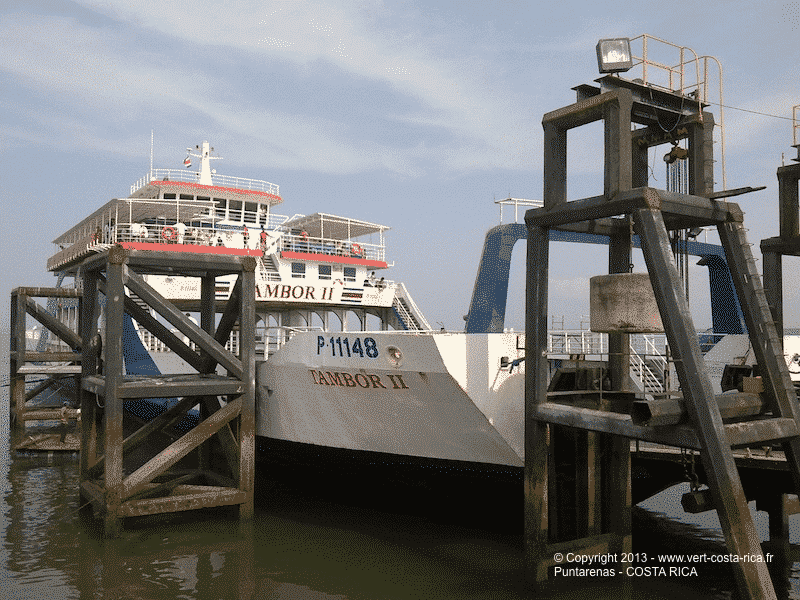 Ferry de Puntarenas, Costa Rica