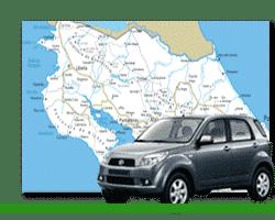Voyage Costa Rica : Location de voiture 4x4 et première nuit hôtel
