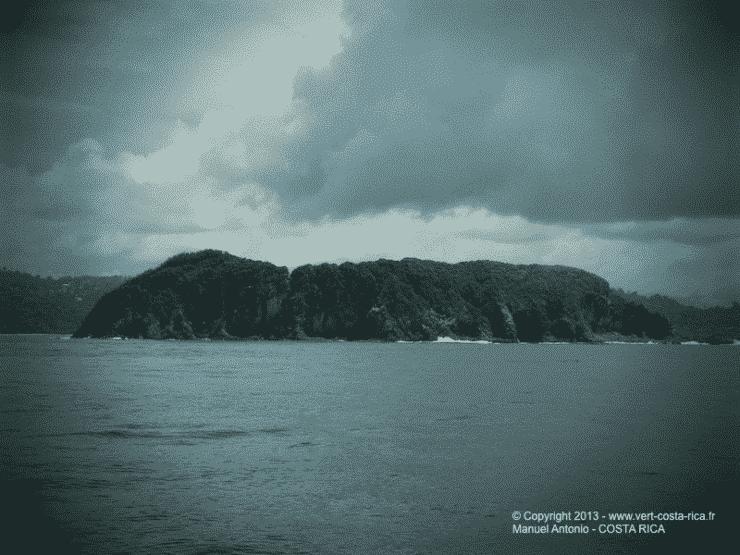 Paysage en mer au large de Manuel Antonio