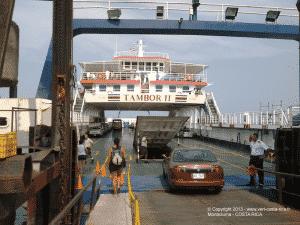 Ferry de Puntarenas pour rejoindre Montezuma