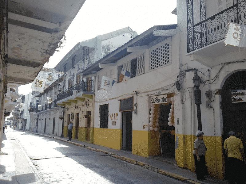 Visite à pied de Panama Viejo