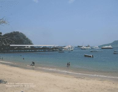 Ile de Taboga au large de la ville de Panama City