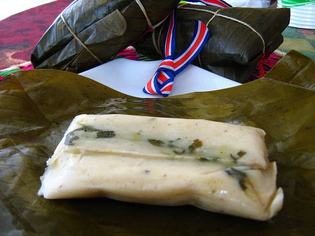 Tamal - tradition de Noël au Costa Rica
