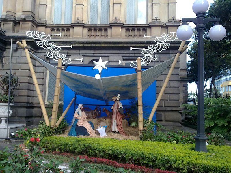 La crèche de Noël au Costa Rica