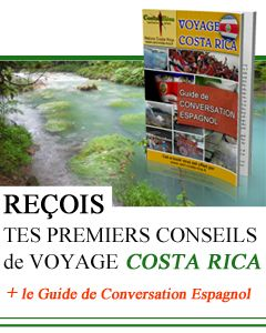 Inscription : Reçois tes premiers conseils de voyage au Costa Rica