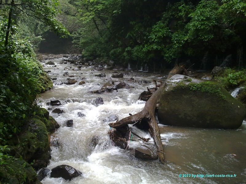 Cataratas de los Chorros, depuis Alajuela