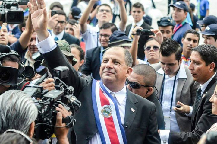 Président du Costa Rica 2014 - 2018 : Luis Guillermo Solís Rivera