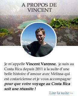 Voyage au Costa Rica avec Vincent Varenne