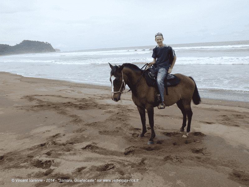 Plage de Buenavista à cheval à Samara