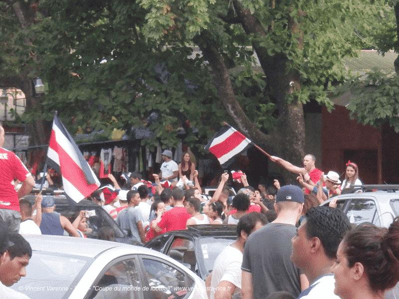 Le Costa Rica en quarts de finale : Coupe du monde de la FIFA 2014