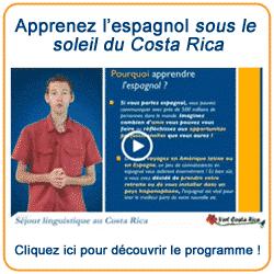 Votre séjour linguistique au Costa Rica - Cours d'espagnol pour adultes, niveau débutant
