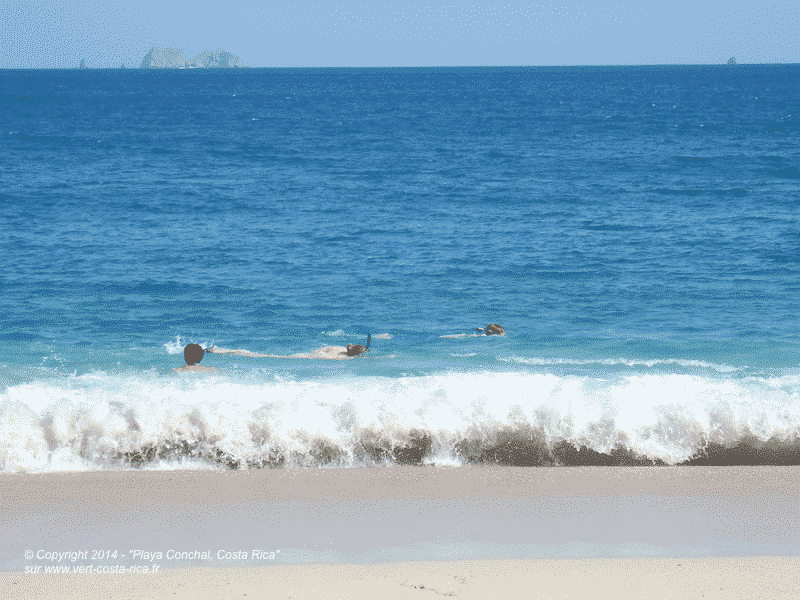Playa Conchal, Plage de conchal à 2 km de Brasilito - Costa Rica