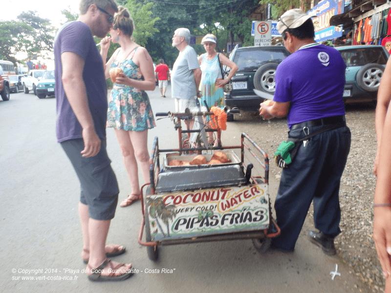 Pipa - vertus de l´eau de Coco, Costa-Rica