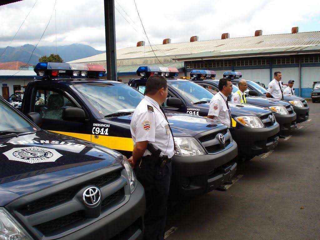 Policia de Transito - police du Costa rica