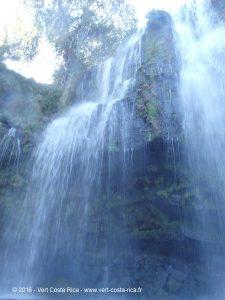 Catarata Llanos del Cortés, Costa Rica