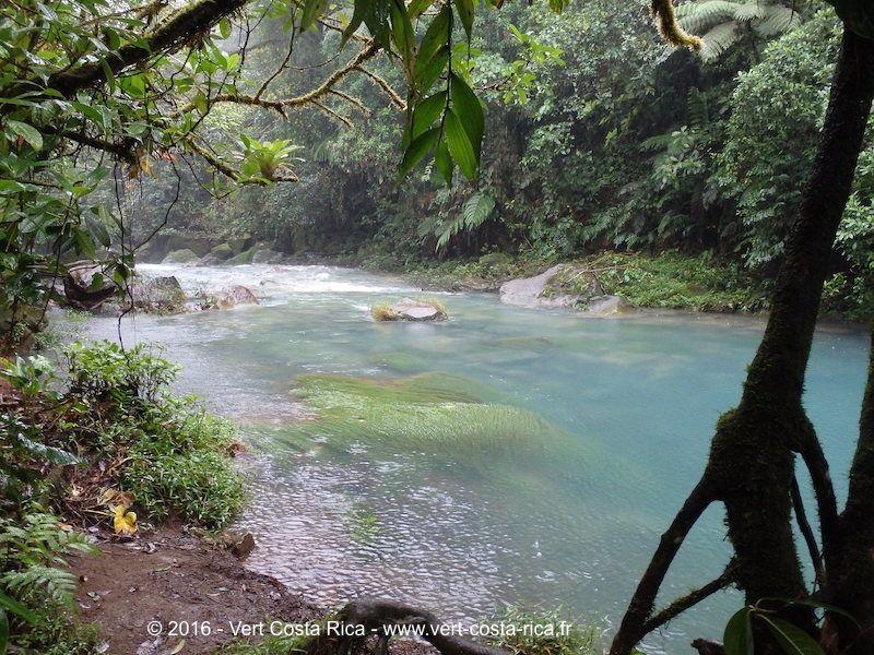 Rio Celeste lagon bleu « Laguna Azul »