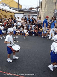 Fête du héros Juan Santamaria à Alajuela