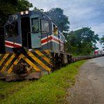 Le train arrive à Alajuela - INCOFER - Costa Rica