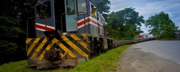 Le train arrive à Alajuela - INCOFER - Costa Rica
